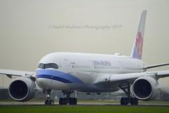 China Airlines B-18909 Airbus A350-941 cn/138 @ Aalsmeerbaan EHAM / AMS 03-11-2017 (Nabil Molinari Photography) Tags: china airlines b18909 airbus a350941 cn138 aalsmeerbaan eham ams 03112017