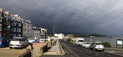 Gathering storm (phil da greek) Tags: storm queen'sparade northbay uk northyorkshire scarborough