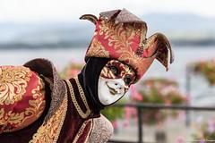 Folies Vénitiennes de Coppet3/6 (Elyane11) Tags: folies vénitiennes coppet suisse carnaval costumes regard