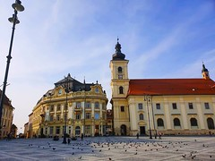 Sibiu (xandriaam) Tags: architecture sibiu ro romania bluesky city trip travel medieval medievalcity