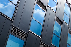 DSC_7578 windows - abstarct architecture (Filip Patock) Tags: windows wallpaper wall architecture abstract abstraction artistic blue facade angles lines geometry geometric perspective nikond3200 photography pattern modern
