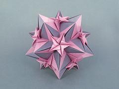 Sesuvium var. (masha_losk) Tags: kusudama кусудама origamiwork origamiart foliage origami paper paperfolding modularorigami unitorigami модульноеоригами оригами бумага folded symmetry design handmade art