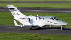 OK-HDJ (PrestwickAirportPhotography) Tags: egpk prestwick airport honda jet 420 okhdj