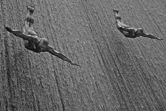Sie kommen (flori schilcher) Tags: schilcher dubai dubaimall var wasserfall waterfall diver taucher