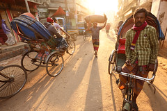 Bangladesh, Old Dhaka (Dietmar Temps) Tags: asia atmospheric bangladesh basket city colorful culture dhaka food rickshaw market morningsun outdoor people scene street sun tradition traditional travel urban vendor work worker