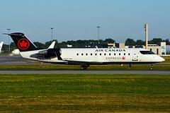 C-FDJA (Air Canada EXPRESS - JAZZ) (Steelhead 2010) Tags: aircanada aircanadaexpress jazz bombardier canadair crj crj200 yul creg cfdja
