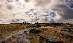 Blinded by the light (Phil-Gregory) Tags: nikon d7200 scenicsnotjustlandscapes peakdistrict trig kinderscout landscapes tokina1120mmatx tokina 1120mmproatx11 wideangle ultrawide