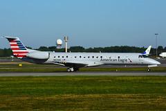 N631AE (American Eagle - Piedmont Airlines) (Steelhead 2010) Tags: americanairlines americaneagle embraer nreg yul erj erj145 piedmontairlines