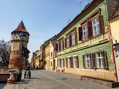 Sibiu (xandriaam) Tags: sibiu ro romania architecture medievalcity medieval bluesky trip travel fortification fortifications