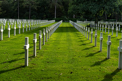 Military Cemetery at Omaha Beach (pa_cosgrove) Tags: dday ww2 cemetery memorial headstones graves invasion sony a73 grass lawn