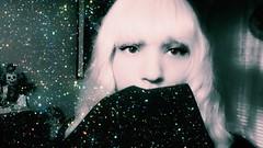 Sparkling Blonde (Josie&theKILLER_DOLLS) Tags: artist rican puerto boricua trans transgender goth blonde filter selfie personal me