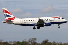 G-LCYH_07 (GH@BHD) Tags: glcyh embraer erj erj170 erj170100std bacityflyer dublininternationalairport ba baw britishairways unionflag dub eidw dublinairport dublin aircraft aviation regionaljet airliner