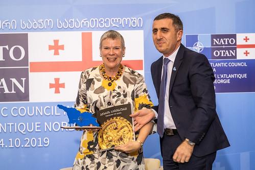 Deputy Secretary General and North Atlantic Council visit Georgia