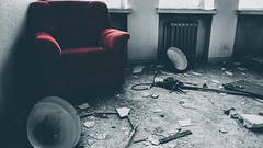 Rage - www.proconart.com (constantin43) Tags: abandoned chair urban stilllife fineart finland hylätty rage anger emotion flickr