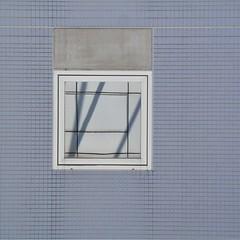 The perfect reflection (magellano) Tags: kyoto station stazione giappone japan parete wall architettura architecture finestra window riflesso reflection