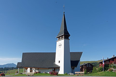Les Saisies (Savoie) : Notre-Dame-de-Haute-Lumière (bernarddelefosse) Tags: église notredamedehautelumière lessaisies rhônealpes france architecture savoie
