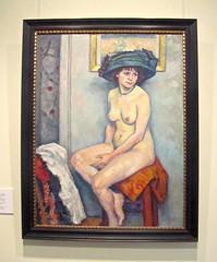 Guerin, Nude, Hermitage (vittorio vida) Tags: russia stpetersburg hermitage ermitage museum guerin nude art painting hat woman