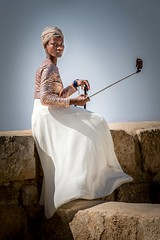 A vision on Mt. Nebo (Tom R Cottrell) Tags: jordan middleeast mountnebo portrait selfies woman