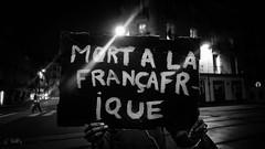 """""""MORT A LA FRANÇAFRIQUE"""" - #Nantes: #JusticePourOumar! Marche en mémoire de Oumar le 7 octobre 2019. Voir plus d'infos dans la description de la #photo >>> (ValK.) Tags: justicepouroumar manifestation nantes oumar politique refugeeswelcome slogans untoitpourtoutes valk accueil asile droitaulogement ecrits exils expulsion graff hommage luttessociales marche migrant migration mots paroles refuge refugies revendications social solidarite soutien tag paysdelaloire france"""