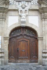 Grüner Markt 14, Bamberg (kate223332) Tags: bamberg bavaria germany door entry gateway portal deutschland
