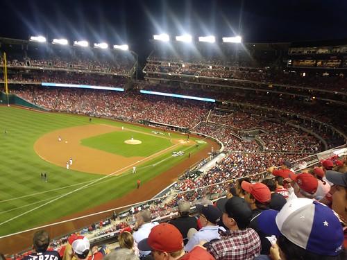 NLDS Nats vs Dodgers Nationals Park ©  Michael Neubert