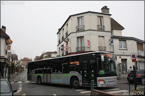 Setra S 415 NF – Stavo (Société de Transport Automobile de Versailles Ouest) (Groupe Lacroix) / STIF (Syndicat des Transports d'Île-de-France) / Plaine de Versailles n°S85