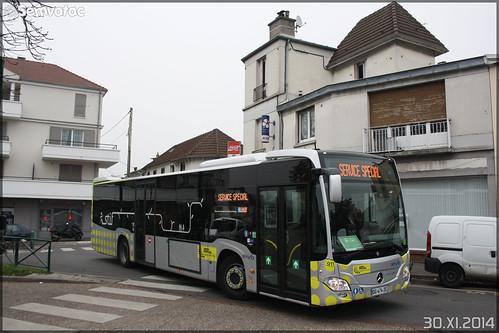 Mercedes-Benz Citaro C2 – Stivo (Société de Transport Interurbaine du Val d'Oise) / STIF (Syndicat des Transports d'Île-de-France) n°911