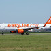 Easyjet taxiing at Amsterdam Airport AMS