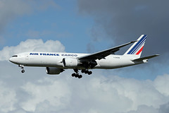 Air France Cargo   B777-F28   F-GUOB (Globespotter) Tags: pariscdg air france cargo b777f28 fguob