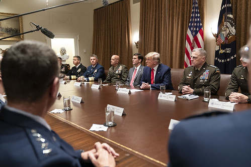 President Trump Participates in a Briefi by The White House, on Flickr