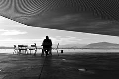 Soledad (Osruha) Tags: centrobotín santander cantabria cantàbria españa espanya spain soledad soletat loneliness bahia bay blancoynegro blancinegre blackandwhite bw bn bnw monocromo monocrom monochrome