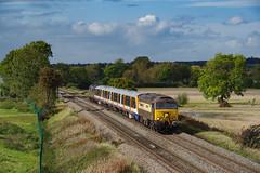 57305+37800 At Breaston. 08/10/2019. (briandean2) Tags: 37800 57305 northernprincess cassiopeia breaston sawley derbyshire derbyshirerailways railwaydrags ukrailways railways class37 class57