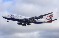 British Airways (Oneworld Livery) Boeing 747-436 G-CIVM (josh83680) Tags: heathrowairport heathrow airport egll lhr gcivm boeing boeing747436 747436 boeing747400 747400 oneworldlivery oneworld livery one world britishairways british airways