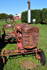 VINTAGE TRACTOR (MIKECNY) Tags: tractor vintage antique ellmsfamilyfarm ballstonspa