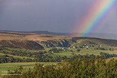 Rainbows End, Holwick Oct 2019 1 (Richard Laidler) Tags: aonb areaofoutstandingnaturalbeauty autumn blustery cliffs countydurham crags dappledshade darksky dramaticlight farming farmland farms fells globalgeopark hamlet hillfarms hillside holwick holwickfell holwickscar landscape longdistancefootpath moorland moors northeastengland northpennines northpenninesaonb pennineway rainbow rural scar settlement sunshine teesdale teesdalelandscape upland upper upperteesdale windy