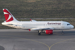 Eurowings Airbus 319-112 OK-NEM (c/n 3406) CSA-logo. (Manfred Saitz) Tags: vienna airport schwechat vie loww flughafen wien eurowings airbus 319 a319 oknem okreg csa