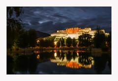 Potala Palace at Blue Hour (www.halkaphoto.com) Tags: asia china tibet lhasa potalapalace dalailama buddhism buddhist buddha religion faith belief philosophy bluehour nightscape nightlights reflection reflecting nikon z7 z2470mmf28s བོད dzongfortress tibetanbuddhism