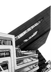 Vienna University of Economics and Business (CoolMcFlash) Tags: vienna university economics business building architecture bnw bw blackandwhite blackwhite canon eos 60d contrast wien wu wirtschaftsuniversität kontrast gebäude modern futuristic spaceship sw schwarzweis architektur fotografie photography tamron b008 18270