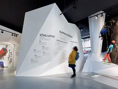 Muzeum horolezectví Turnov (hipposdesign.com) Tags: hipposdesign muzea horolezectví expozice černá bílá