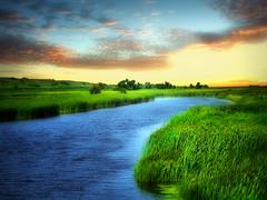 James River 26 (Bill Tanata) Tags: landscape rural prairie river field grass sky outdoors county countryside photoart northdakota