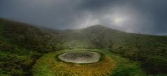 Hiking a volcano lake (ramerk_de) Tags: azoren acores hiking crater pico