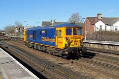 73964 Tonbridge (CD Sansome) Tags: tonbridge station train trains gbrf gb railfreight 73 73964