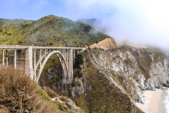 Bixby Bridge (M01.0203) Tags: usa 2019 usa2019 california highwayone highway1 highway one pch pacific coast morro bay 17milesdrive mcwaysfall mcways fall bixby bridge