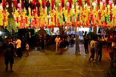 "Temple Festival (ol'pete) Tags: พุทธกาลนิชน buddhist ลำพูน lamphun ทำบุญ ""makemerit"" tambun ประเทศไทย thailand วัด temple วิหาร wihan วัดพระธาตุหริภุญชัย wat phra that hariphunchai"