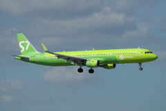 S7 Airlines   A321-211   VP-BPO (Globespotter) Tags: barcelonael prat s7 airlines a321211 vpbpo