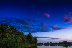Blue - Zameczek (Andrzej Kocot) Tags: andrzejkocot art adventure landscape landscapes water creative clouds countryside cloud fineart sky surreallandscape surreal sunlight sunset skyline sunsetmood olympus omd outdoor poland polska photography