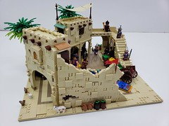 Aladdin-Streets of Agrabah (ben_pitchford) Tags: lego legomoc legofan legophotography afol legocastle castlephotography toyphotography hobbylobby microscale legobricks aladdin disneyaladdin disneyphotography