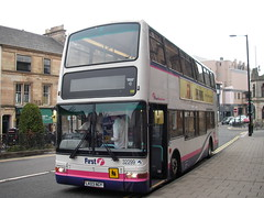 First 32299 LK03NGY (preselected) Tags: bus coach first scotland east midland bluebird dennis trident plaxton president