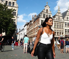 Serious #83 (jdel5978) Tags: portrait summer candid street antwerp antwerpen