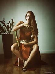 AM (Mister Zeta) Tags: woman female donna modella model alessia marseglia portrait ritratto panasonicdmcgx80 lumixgx80 microfourthirds micro43 microquattroterzi red rosso vestito